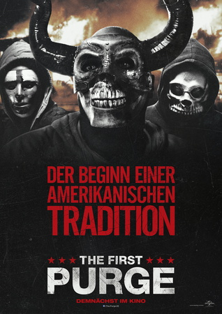 Filmplakat: The First Purge