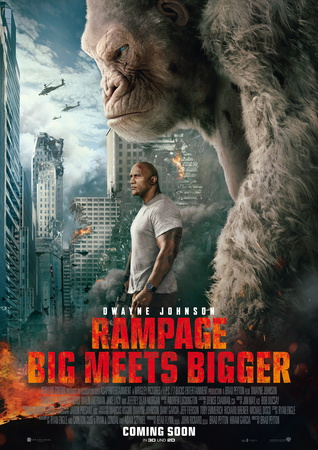 Filmplakat: Rampage - Big Meets Bigger